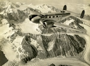 US Army Air Force 2nd Mapping Squadron Mt McKinley Washington Old photo 1941