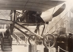 Paris Airshow Grand Palais Morane Racing Monoplane Old Agence Rol Photo 1911
