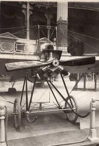 Paris Grand Palais Salon de l'Aeronautique Monoplan Deperdussin Anzani Ancienne Photo Rol 1911