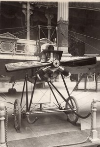Paris Airshow Grand Palais Deperdussin Anzani Monoplane Agence Rol Photo 1911