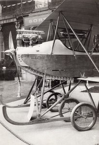 Paris Airshow Grand Palais Albatros Display Aviation Old Agence Rol Photo 1911
