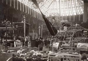 Paris Grand Palais Salon de l'Aeronautique Stand Astra Aviation Ancienne Photo 1911