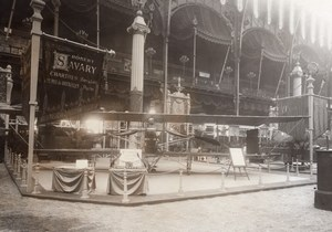 Paris Airshow Grand Palais Savary Display Aviation Old Agence Rol Photo 1911