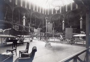 Paris Grand Palais Salon de l'Aeronautique Stand Sloan Bicurve Aviation Ancienne Photo 1911