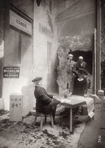 Paris Airshow Grand Palais Michelin Display Aviation Old Agence Rol Photo 1911