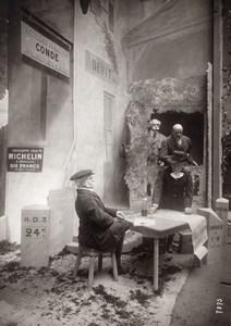 Paris Grand Palais Salon de l'Aeronautique Stand Michelin Aviation Ancienne Photo Rol 1911