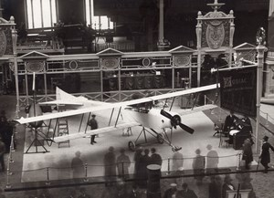 Paris Airshow Grand Palais Zodiac Biplane Display Aviation Agence Rol Photo 1911