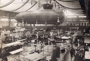 Londres Olympia Salon de l'Aeronautique Vue Generale Ancienne Photo Agence Rol 1911