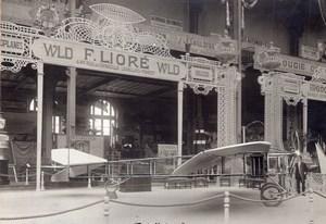 Paris Grand Palais Salon de l'Aeronautique Avion Liore WLD Ancienne Photo Tech Moderne 1910