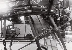 Paris Grand Palais Salon de l'Aeronautique Avion Nieuport Aviation Ancienne Photo Rol 1912