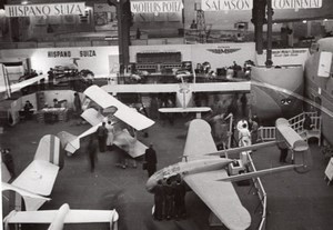 Paris Airshow Grand Palais Flying Wing Aviation old Photo 1946