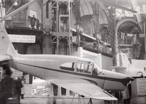 Paris Grand Palais Salon de l'Aeronautique Avion SNCASE 2311 Ancienne Photo 1946