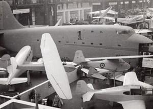 Paris Grand Palais Salon de l'Aeronautique Avion SNCAC NC-211 Cormoran Ancienne Photo 1946