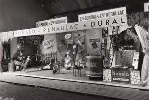 France Bordeaux Fair Bonalo Renaulac Dural Exhibit Paint Old Puytorac Photo 1958