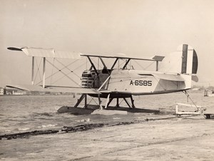 Military Aviation LWF Douglas DT-2 6585 Torpedo Bomber Seaplane Old Photo 1920's
