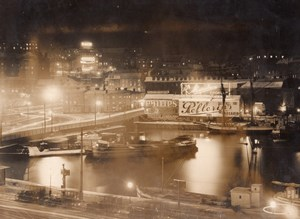 Sweden Stockholm? By night Philips Pellerin Stomatol Adverts Old Photo 1920's