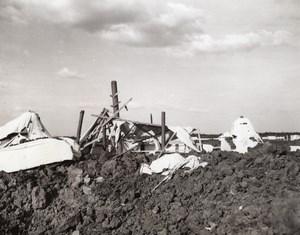 USA Louisiana Shreveport Aerial Bombing Exercise Barksdale Field Old Photo 1941