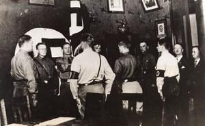 Chili WW2 WWII Ceremonie Militaires Club Allemand Ancienne Photo 1941
