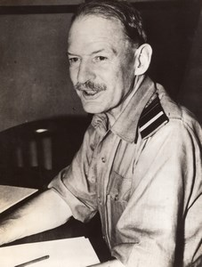 Royal Air Force Air Chief Marshal Sir Robert Brooke-Popham RAF Old Photo 1940