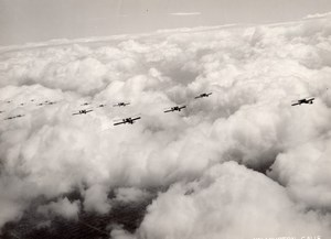 California Wilmington US Air Corps Aerial Maneuvers Aviation Old Photo 1933