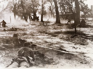 Russia Belarus Brest-Litovsk German Soldiers Troops WWII WW2 Old Photo 1941