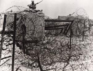 Libya Siege of Tobruk British Australian Battlements WWII WW2 Old Photo 1941