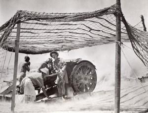 Libya Siege of Tobruk Australian Bush Battery in action WWII WW2 Old Photo 1941