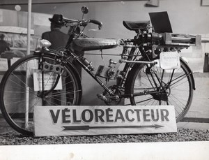 France Arts Menagers Noubel Jet Bicycle Veloreacteur Aviation 5 Old Photos 1951