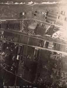Algeria Algiers Alger Hussein Dey Old Aerial Photo 1920