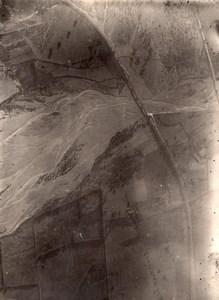 Algeria Algerie Chiffa Gorge Old Aerial Photo 1920