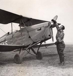 German Actor Heinz Rühmann Quax, Der Bruchpilot Old Photo 1941