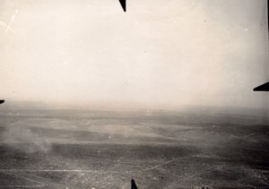 France Meuse WWI Le Chenois near Eparges? Aerial View Lt Ruinet Old Photo 1916