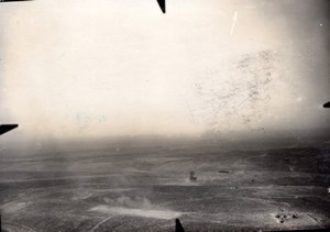 France Meuse WWI La Laufee Aerial View Lt Ruinet Old Photo 1916