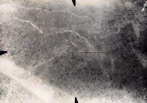 France Meuse WWI Boyau de la Doller Aerial View Old Photo 1916