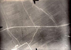 France Meuse WWI Ferme de Mandre Chatillon sous les Cotes Aerial View Photo 1916