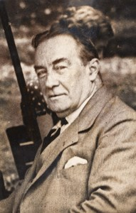 Portrait of British Prime Minister Stanley Baldwin Politics Old Photo 1935