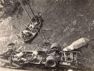 Algeria Passenger Bus Accident Algiers Staouéli line 9 Dead Old Photo 1934