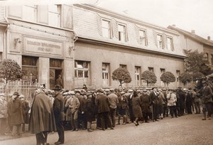 Germany Aachen Mining Alsdorf Disaster 292 Dead Victims Families Old Photo 1930