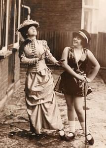 London Rosebud Troupe of Child Dancers Miss 1826 & 1926 Old Photo