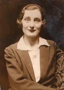 London Secretary Marjorie Saward Wedding Swedish Captain Gustav Berg Photo 1930