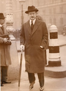 London Opening of Parliament War Minister Duff Cooper Old Photo 1936