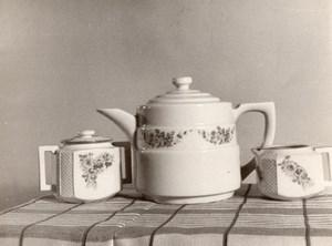 Photographic Study Tea Set Illinois Cicero Goldi Camera Henry Bugella Photo 1940