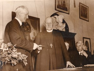 Lambeth Archbishop Temple's School Alfred Wayment Cosmo Gordon Lang Photo 1935