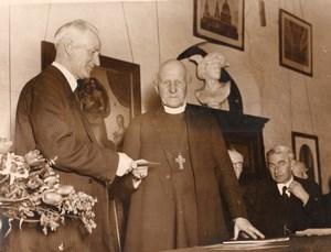 Lambeth Archbishop Temple's School Alfred Wayment Cosmo Gordon Lang Photo 1935