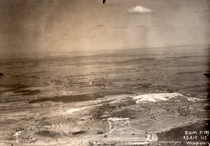 France WWI WW1 Around Vauquois Meuse Old Aerial Photo 1916