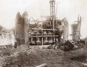 France Serre-lès-Puisieux WWI British Western Front Somme Battle Old Photo 1917