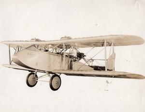 USA Aviation Johnson Twin 60 Airplane Old Photo 1926