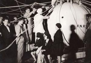 Belgique? Aeronaute Auguste Piccard Vol Stratospherique Ancienne Photo 1930's
