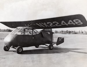 USA California Convair 103 NX22448 Prototype Aviation Old Photo 1944