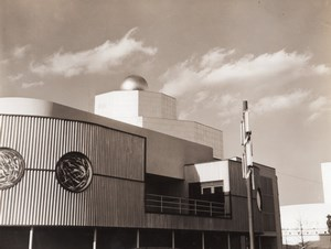 New York World's Fair Cosmetics Pavilion Old Underwood Photo 1939